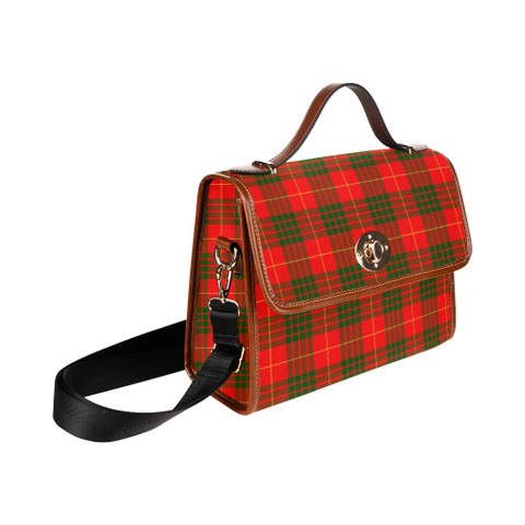 Cameron Modern Tartan Canvas Bag | Special Custom Design