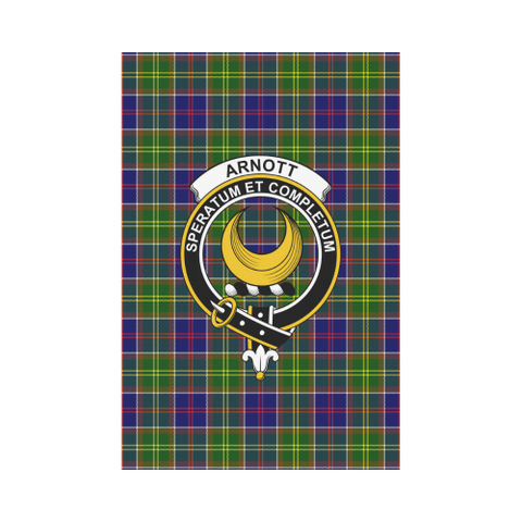 Arnott Tartan Flag Clan Badge | Scottishclans.co
