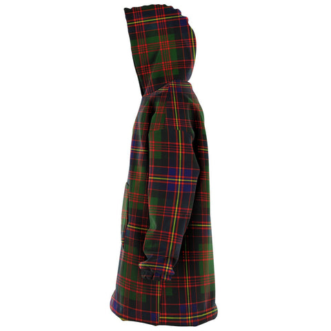 Image of Cochrane Modern Snug Hoodie - Unisex Tartan Plaid Left