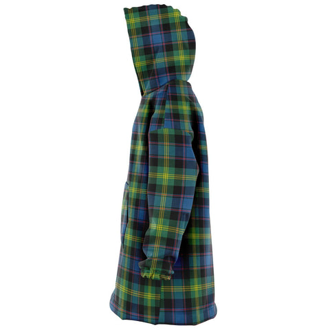 Image of Watson Ancient Snug Hoodie - Unisex Tartan Plaid Left