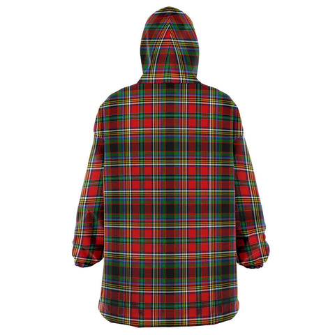 Anderson of Arbrake Snug Hoodie - Unisex Tartan Plaid Back