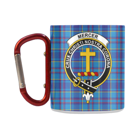 Image of Mercer Modern Tartan Mug Classic Insulated - Clan Badge K7