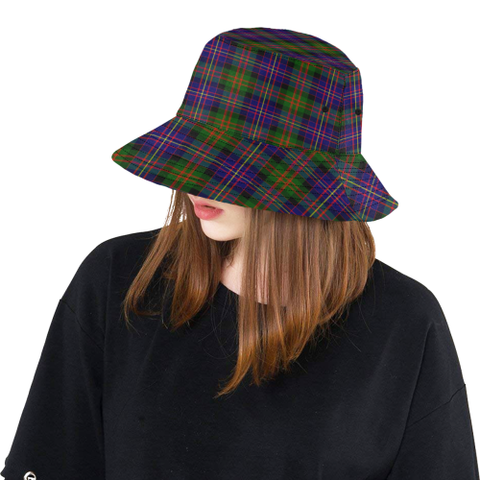 Cameron Of Erracht Modern Tartan Bucket Hat for Women and Men K7