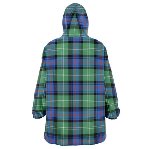 Sutherland Old Ancient Snug Hoodie - Unisex Tartan Plaid Back