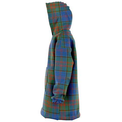 Stewart of Appin Hunting Ancient Snug Hoodie - Unisex Tartan Plaid Left
