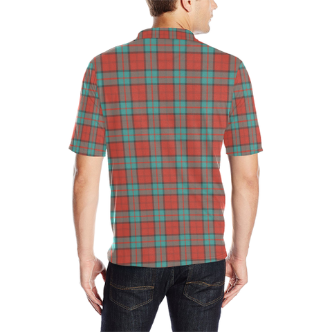 Dunbar Ancient  Tartan Polo Shirt HJ4