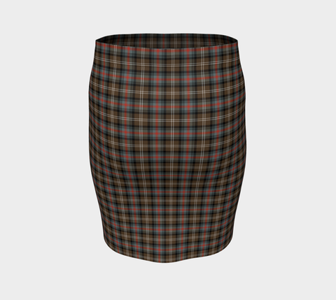 Tartan Fitted Skirt - Sutherland Weathered | Special Custom Design