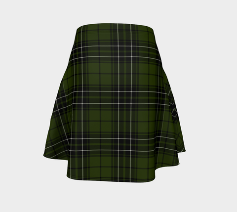 Image of Tartan Flared Skirt - MacLean Hunting |Over 500 Tartans | Special Custom Design | Love Scotland