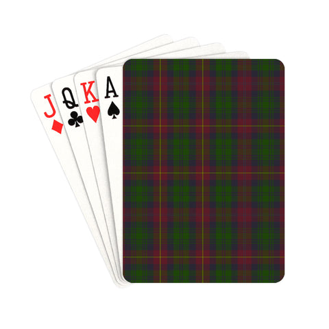Cairns Tartan Playing Cards | scottishclans.co