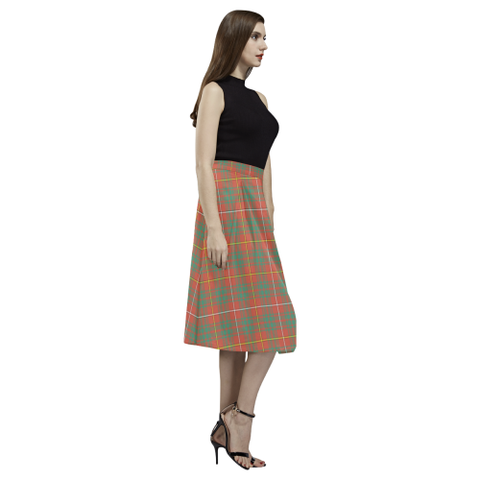 Image of Bruce Ancient Tartan Aoede Crepe Skirt | Exclusive Over 500 Tartan
