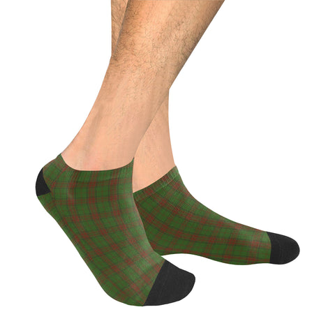 Image of Maxwell Hunting Tartan Ankle Socks | scottishclans.co