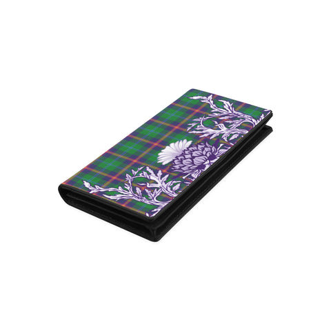 Image of Young Modern Tartan Wallet Women's Leather Wallet A91 | Over 500 Tartan