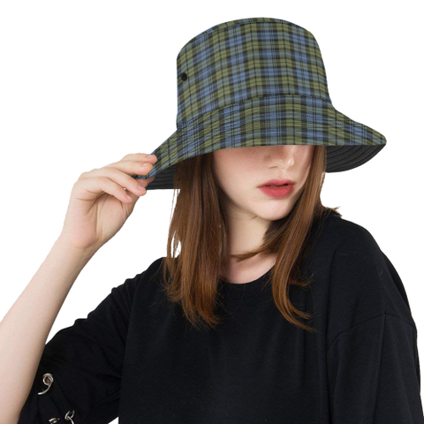 Campbell Faded Tartan Bucket Hat for Women and Men | Scottishclans.co