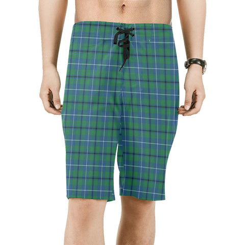 Image of Douglas Ancient Tartan Board Shorts | scottishclans.co