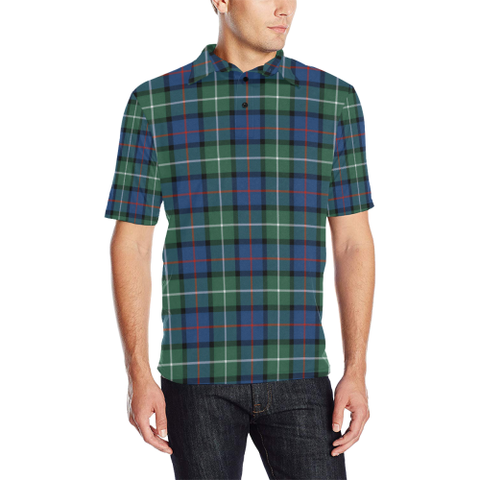 Davidson of Tulloch   Tartan Polo Shirt