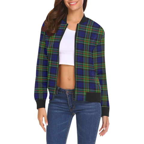 Colquhoun Modern Tartan Bomber Jacket | Scottish Jacket | Scotland Clothing