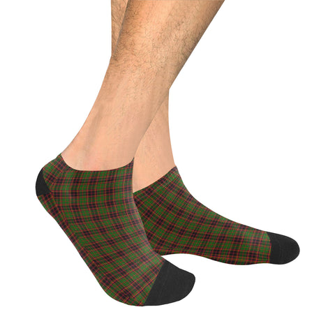 Buchan Modern Tartan Ankle Socks | scottishclans.co