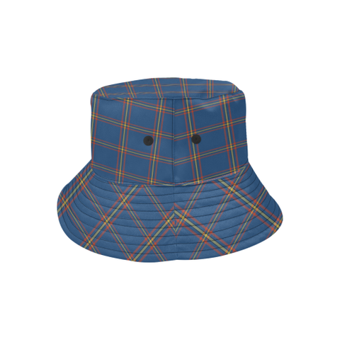 Maclaine Of Loch Buie Hunting Ancient Tartan Bucket Hat for Women and Men