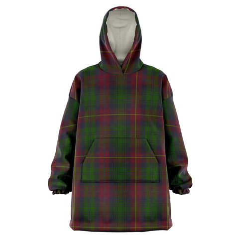 Image of Cairns Snug Hoodie - Unisex Tartan Plaid Front