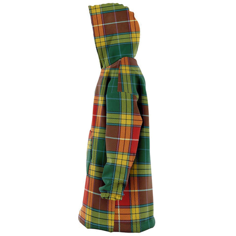 Image of Buchanan Old Sett Snug Hoodie - Unisex Tartan Plaid Left