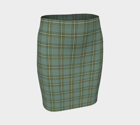 Image of Tartan Fitted Skirt - Kelly Dress | Special Custom Design