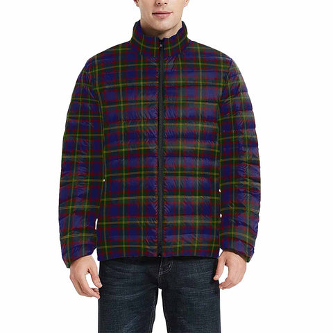 Durie Clan Scotland Tartan  Men's Lightweight Bomber Jacket K9