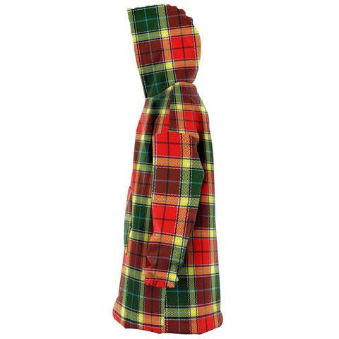 Image of Gibbs Snug Hoodie - Unisex Tartan Plaid Left