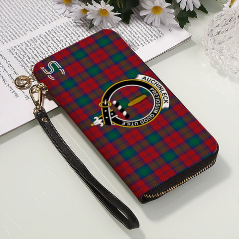 Auchinleck Crest Tartan Zipper Wallet™