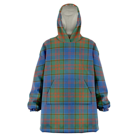 Image of Stewart of Appin Hunting Ancient Snug Hoodie - Unisex Tartan Plaid Front