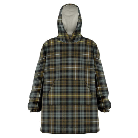 Image of Campbell Argyll Weathered Snug Hoodie - Unisex Tartan Plaid Front