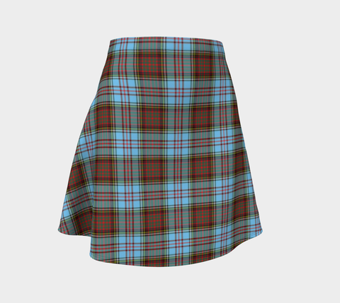 Tartan Flared Skirt - Anderson Ancient A9