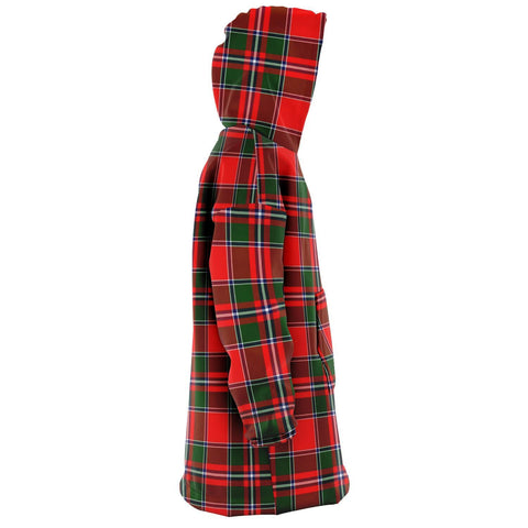 Spens Modern Snug Hoodie - Unisex Tartan Plaid Right