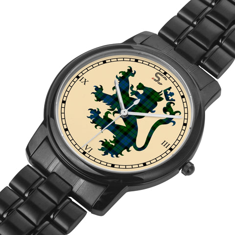 MacKay Modern Tartan Watch Lion Scottish Vesion K7