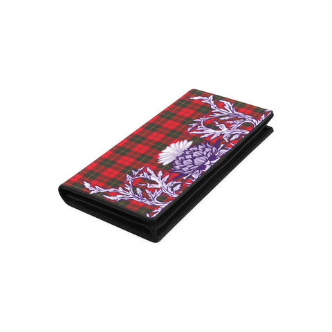 Image of Wallace Weathered Tartan Wallet Women's Leather Wallet A91 | Over 500 Tartan