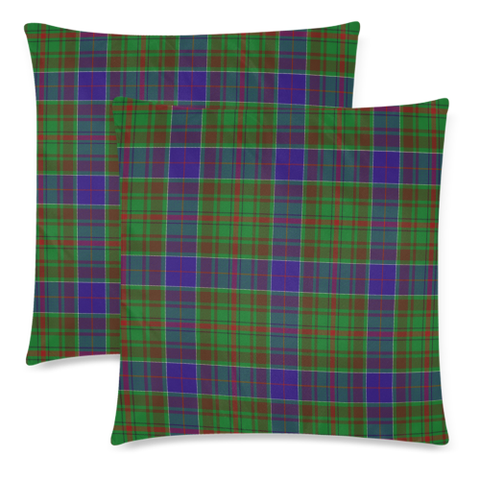 Image of Adam decorative pillow covers, Adam tartan cushion covers, Adam plaid pillow covers