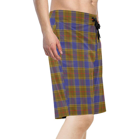 Balfour Modern Tartan Board Shorts TH8