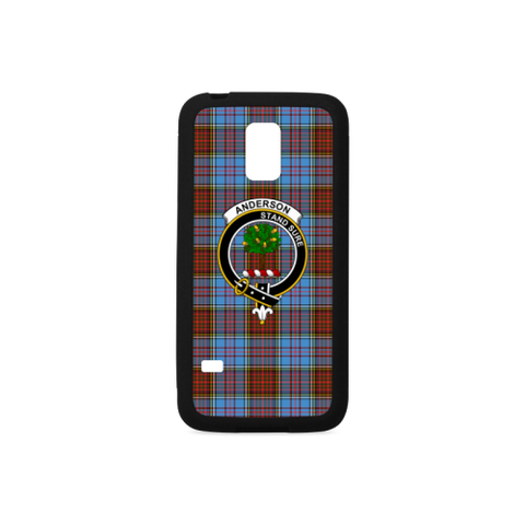 Image of Anderson Tartan Clan Badge Luminous Phone Case Samsung Galaxy S8