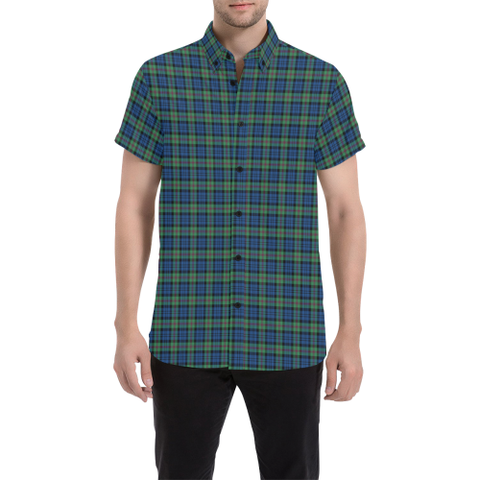 Tartan Shirt - Baird Ancient | Exclusive Over 500 Tartans | Special Custom Design