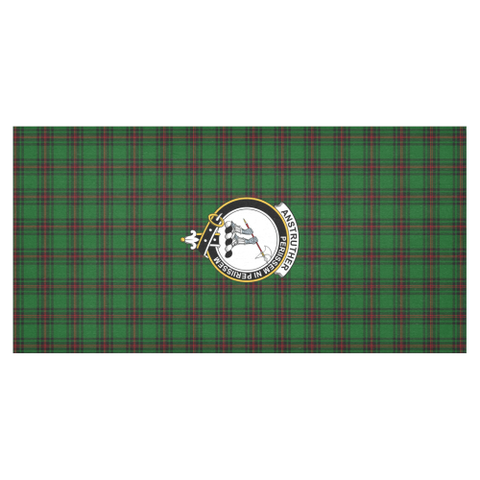 Image of Anstruther Crest Tartan Tablecloth | Home Decor