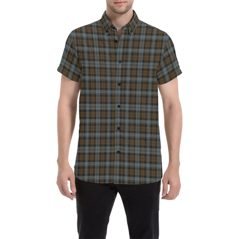 Tartan Shirt - BlackWatch Weathered | Exclusive Over 500 Tartans | Special Custom Design