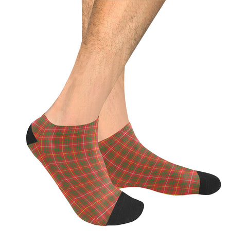 Image of Bruce Modern Tartan Ankle Socks | scottishclans.co