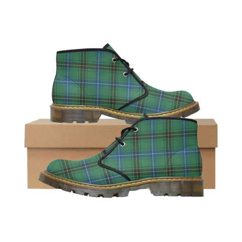 Henderson Ancient Tartan Chukka Boot | Over 500 Tartans | Special Custom Design | Love Scotland