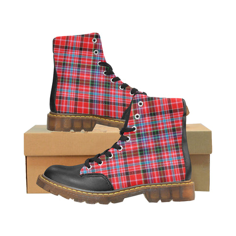 Aberdeen District Tartan Apache Boots | Tartan Footwear | Over 500 Tartans & 300 Clans