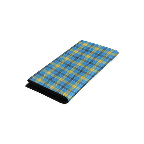 Image of Laing Tartan Wallet Women's Leather Thistle A91