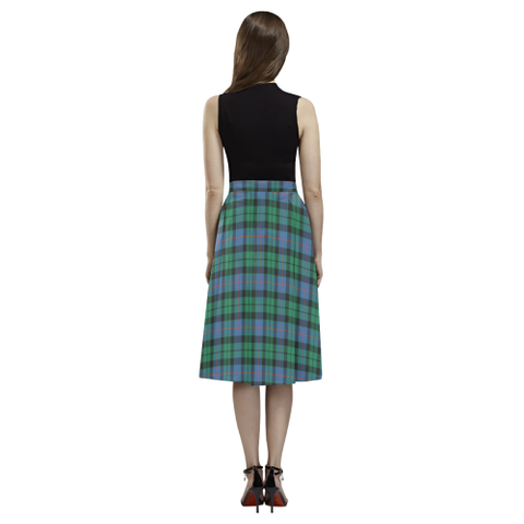 Morrison Ancient Tartan Aoede Crepe Skirt | Exclusive Over 500 Tartan