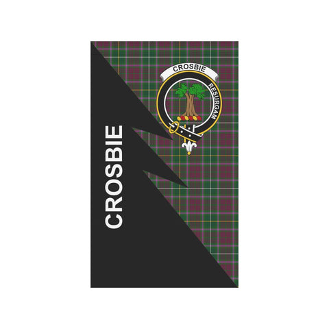 "Crosbie Tartan Garden Flag - Flash Style 36"" x 60"""