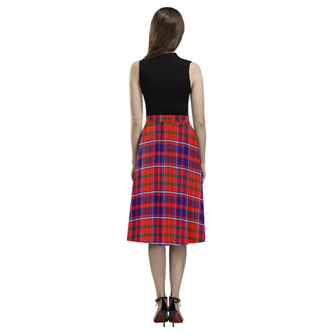 Cameron of Lochiel Modern Tartan Aoede Crepe Skirt | Exclusive Over 500 Tartan