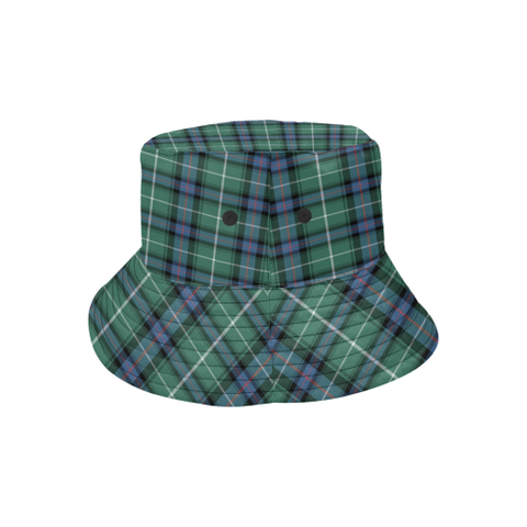 Image of Macdonald Of The Isles Hunting Ancient Tartan Bucket Hat for Women and Men K7