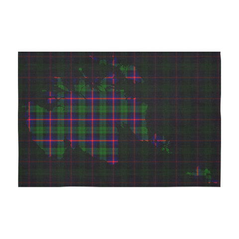 Urquhart Modern Tartan Map Tablecloth