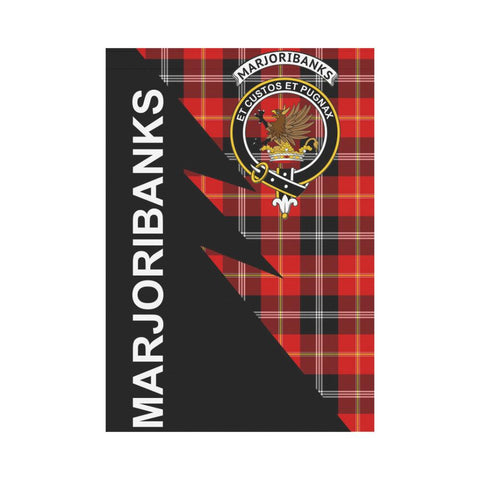 "Image of Marjoribanks Tartan Garden Flag - Flash Style 28"" x 40"""